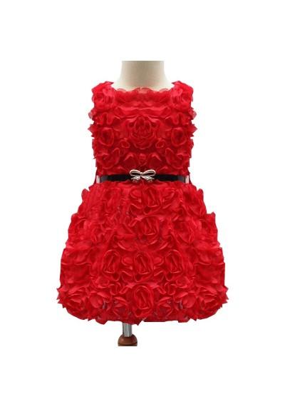 Daisy  Φόρεμα με λουλούδι δαντέλα
