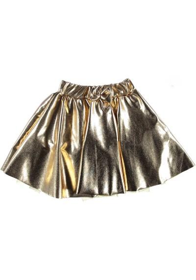 Χρυσό Tutu φούστα για τα Χριστούγεννα