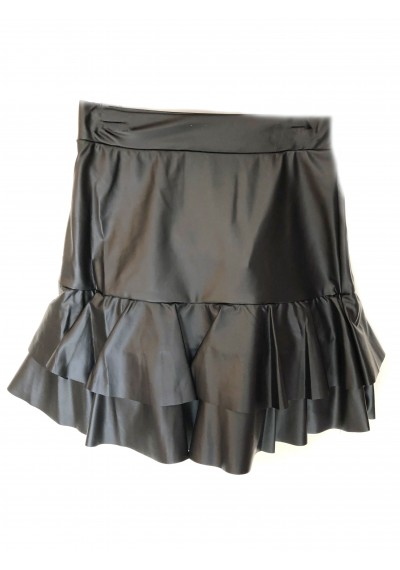 Little Star δερμάτινη φούστα