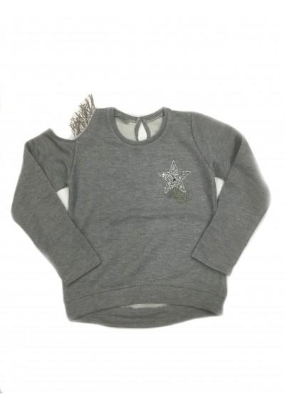 LT μακρυμάνικη μπλούζα για κορίτσια με πούλιες