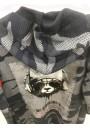 RIGA Σχεδιαστής Μακρύ βαμβακερό σακάκι για τα αγόρια