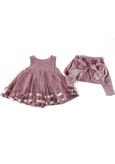 Βελούδινο φόρεμα tutu με μπολερό