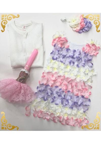 W&B Flower Cotton Dress
