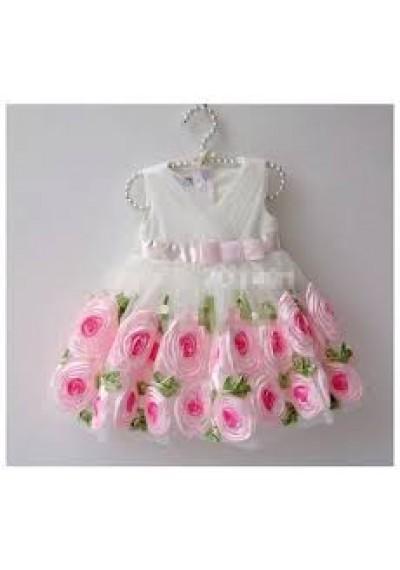 τούλι λουλούδι φόρεμα