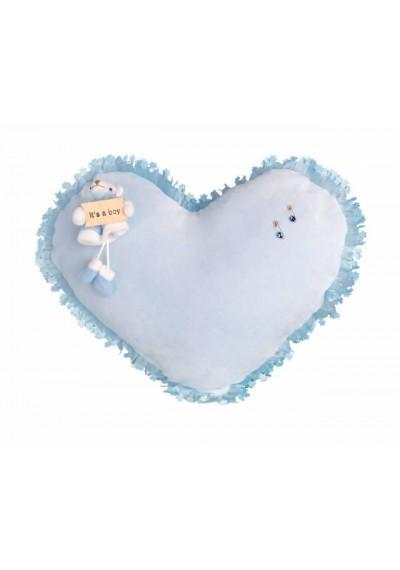 Χειροποίητο Διακοσμητικό Μαξιλαράκι Καρδιά - Για &a