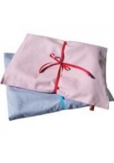Σετ για παιδικό κρεββάτι από βαμβάκι Οxford -Ροζ- Djou Djou Design