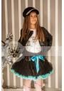 Petti φούστα μαύρο-μπλε