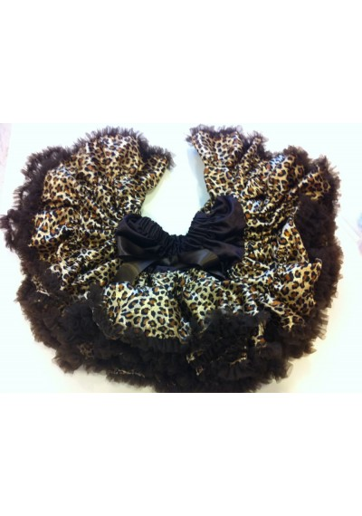 Petti φούστα leopard