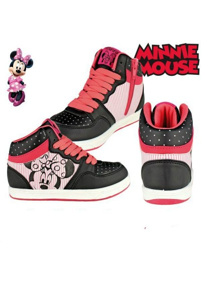 Minnie Leather Sneakers