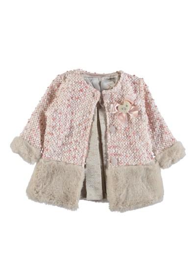 Φόρεμα κοριτσάκι με παλτό