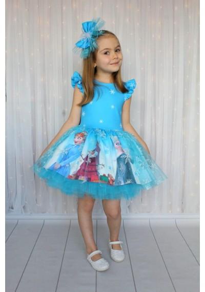 Frozen Tutu Φόρεμα  για κορίτσια