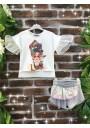 Little Star Hollywood Collection Σορτς και μπλούζα