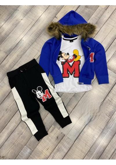 Mickey Set 3 τεμ,σακακι παντελονι και μπλουζα