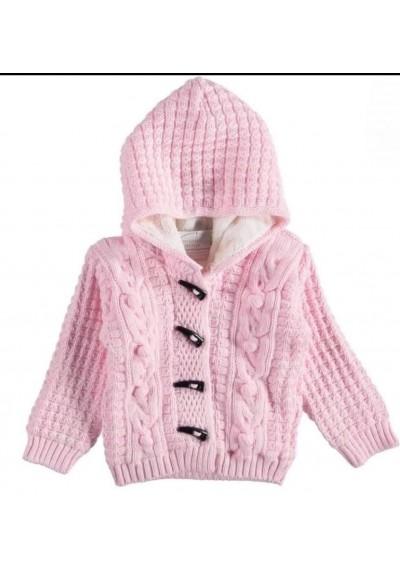 WB Μαλλί σακακι με γούνα για κοριτσάκι