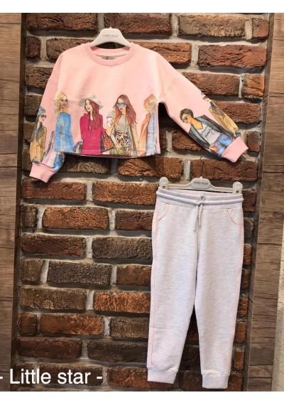 WB Φόρμα φούτερ για κορίτσια