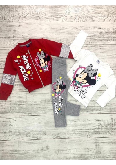 Minnie Κορίτσια season Jumpsuit 4 τεμ