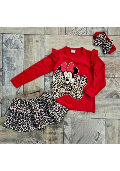 Minnie Love Φούστα, Μπλούζα και Κορδελάς