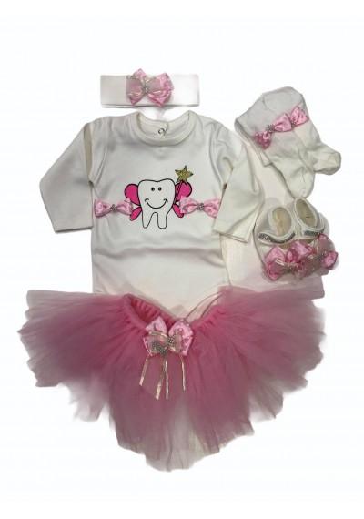 Petti Tutu σετ δώρου για κοριτσάκι Pink