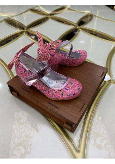 Butterfly κορίτσια Καλοκαιρινά παπούτσια με λάμψη