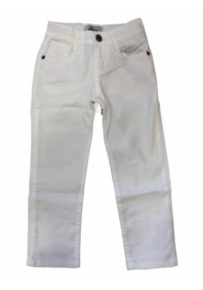 αγόρια λινό παντελόνι άσπρο