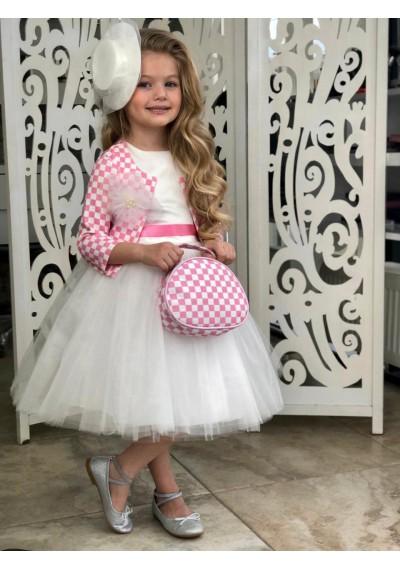 Charlotte B. 60*s Φόρεμα ,Σακάκι, τσάντα, καπέλο, κάλτσες &Limited Edition