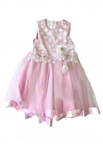 Lace Pink Charm Dress