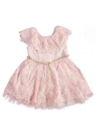 Pikolli Φόρεμα από τούλι ,από λινό για κορίτσια