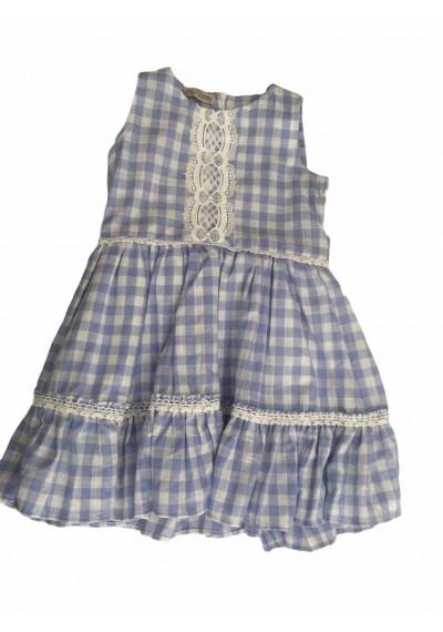 Karo Φόρεμα από λινό με Κορδέλα