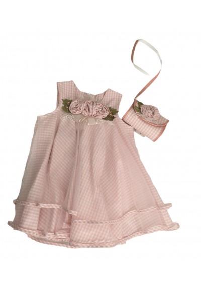 Princess Tutu Pink Φόρεμα για κοριτσάκι με τσάντα και κορδέλα