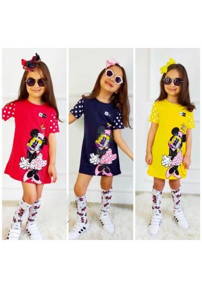 Minnie Φόρεμα με Κορδέλα για το καλοκαίρι