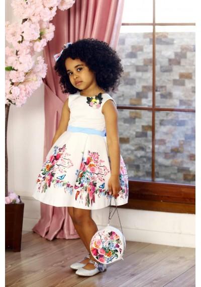 Daisy Tutu Flower Dress with Bag