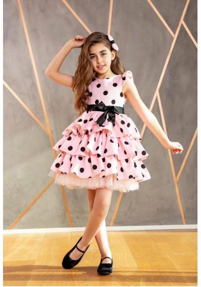 Mischelle Dot Lace Dress