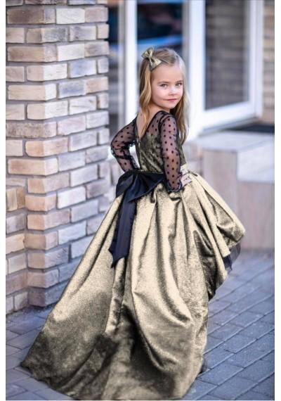 Charlotte Μακρύ φόρεμα δαντέλα