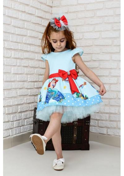 Toutou Φόρεμα γοργόνας με κορδέλα και κάλτσες