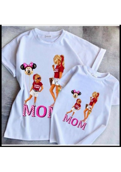 Mother&Girl Unique Tops Minnie