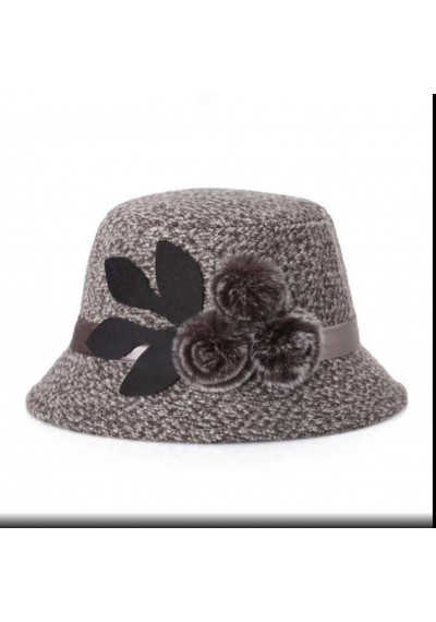 Fedora Μάλλινο καπέλο