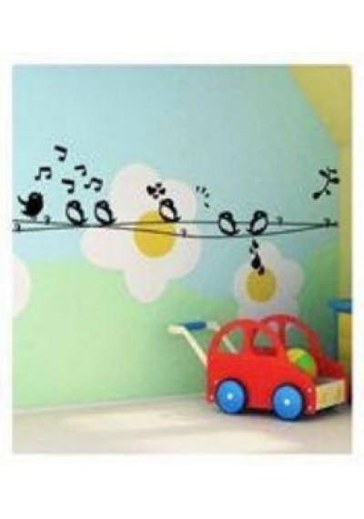 Αυτοκόλλητα Τοίχου - Sweet Birds