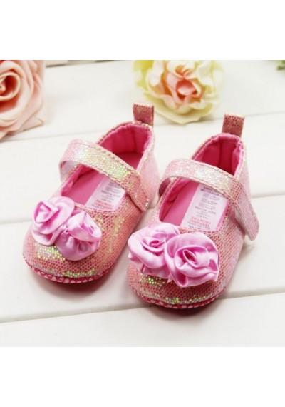 Ροζ Sequine Petti Παπούτσια για κοριτσάκι